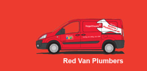 after sales red van plumber